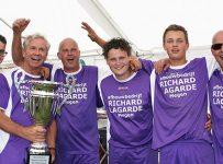Het team van Richard Lagarde won ook in 2015 het beachvolleybaltoernooi van De Maasruiters Megen